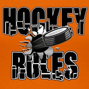 Hockey Rules - Women's Premium T-Shirt