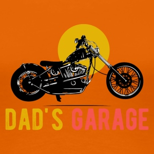 Dad's Garage · LogoArt - Frauen Premium T-Shirt