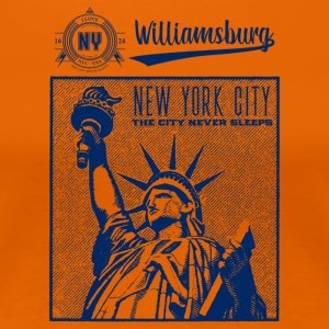 New York · Williamsburg - Premium T-skjorte for kvinner