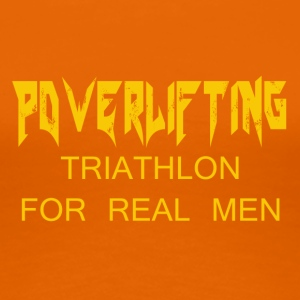 TRIATHLON FOR REAL MEN - Women's Premium T-Shirt