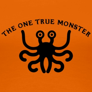 the one true monster BLACK - Women's Premium T-Shirt