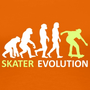 ++ ++ Skater Evolution - Premium T-skjorte for kvinner