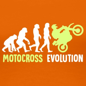 ++ ++ Motocross Evolution - Women's Premium T-Shirt