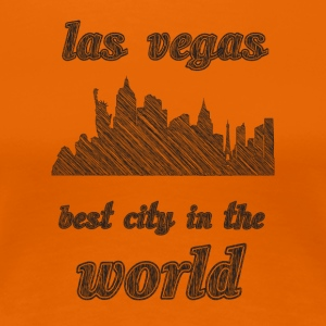 Las vegas Best city in the world - Women's Premium T-Shirt
