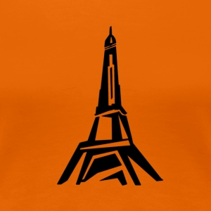 paris - Premium-T-shirt dam