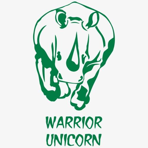warrior unicorn - Frauen Premium T-Shirt