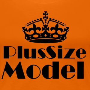 Plus Size Model - Frauen Premium T-Shirt