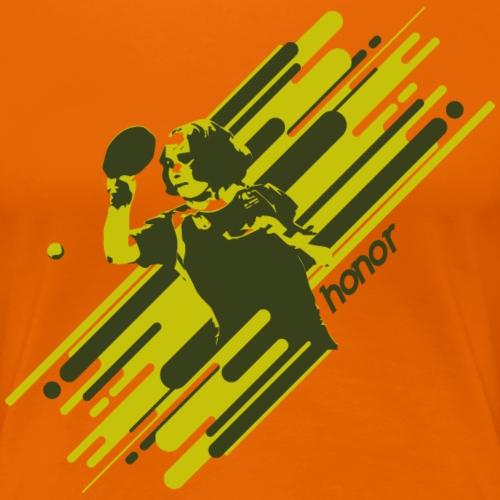 Honor and Respect to achieve Goal - Frauen Premium T-Shirt