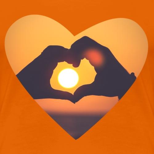 Sunset Lover - Frauen Premium T-Shirt