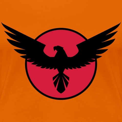 hawk circle Adler Kreis - Frauen Premium T-Shirt