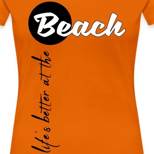 Strandleben - Frauen Premium T-Shirt