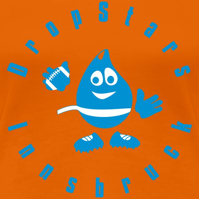 """Logo DropStars Innsbruck """"Droppy"""""""