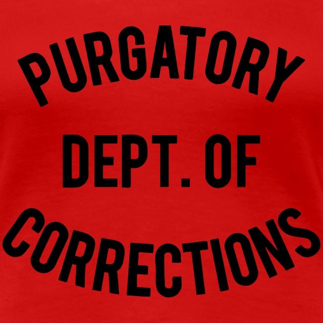 PURGATORY DEPT OF CORRECTIONS