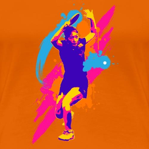 Tischtennis Einsatz - Frauen Premium T-Shirt