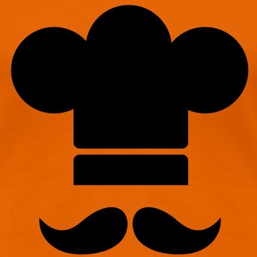 Cuisinier à moustaches - T-shirt Premium Femme