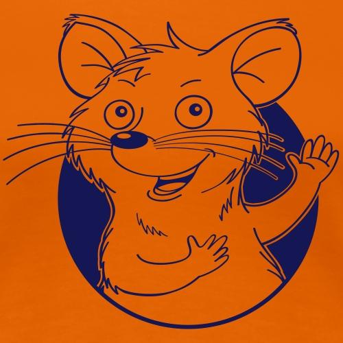 mutige Maus - Frauen Premium T-Shirt