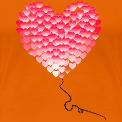 Serce z Serc BALONIK - Koszulka damska Premium