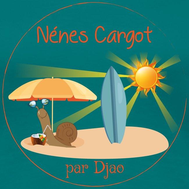 Nénes Cargot à la plage par Djao