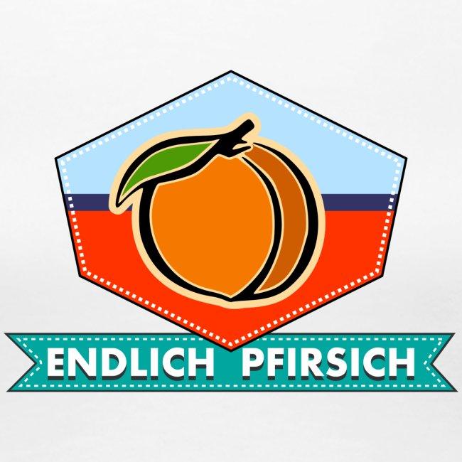 Endlich Pfirsich