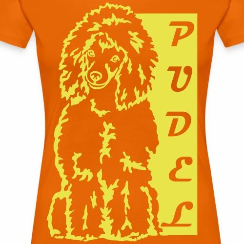 Pudel / Poodle / Pudelek - Koszulka damska Premium