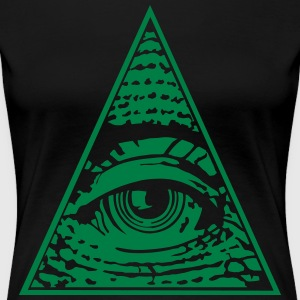 Eye of Providence - Dame premium T-shirt