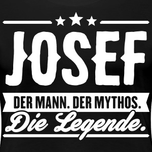 Man Myth Legend Josef - Premium T-skjorte for kvinner