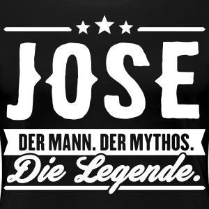 Mann Mythos Legende Jose - Frauen Premium T-Shirt