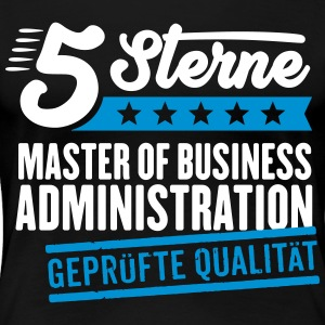 5Sterne Master of Business Administration - Frauen Premium T-Shirt