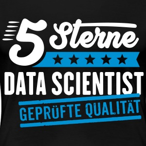 5Sterne Data Scientist - Frauen Premium T-Shirt