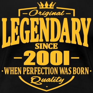 Legendary sedan 2001 - Premium-T-shirt dam