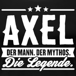 Mann Mythos Legende Axel - Frauen Premium T-Shirt