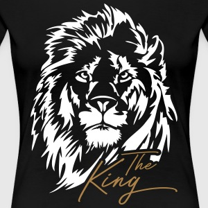 The Lion - The King - Vrouwen Premium T-shirt
