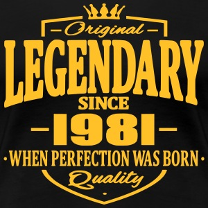 Legendary sedan 1981 - Premium-T-shirt dam