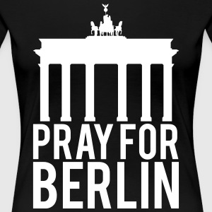 Pray for Berlin. Beds for Berlin - Women's Premium T-Shirt
