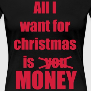 Christmas song award money - Women's Premium T-Shirt