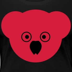 KOALA red - Women's Premium T-Shirt