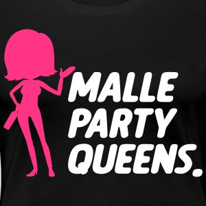 Malle Party Queens - Dame premium T-shirt