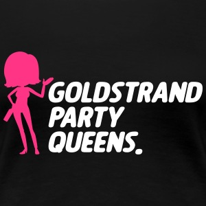 Goldstrand Party Queens - Frauen Premium T-Shirt