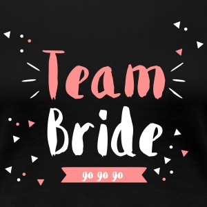 Team Bride Wimpeldesign - Frauen Premium T-Shirt