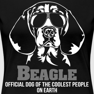 BEAGLE coolest people - Women's Premium T-Shirt