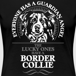 Guardian Angel Border Collie - Koszulka damska Premium