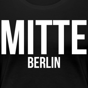 BERLIN CENTER - T-shirt Premium Femme