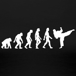 The Evolution Of Taekwondo - Women's Premium T-Shirt