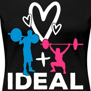 Ideal partnership - Women's Premium T-Shirt