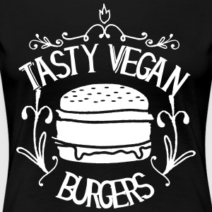 Tasty vegan burgers - Women's Premium T-Shirt