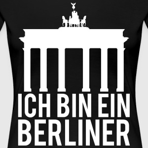 I AM A BERLINER - Women's Premium T-Shirt