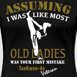 Tae Kwon Do Ladies Veteran - Women's Premium T-Shirt