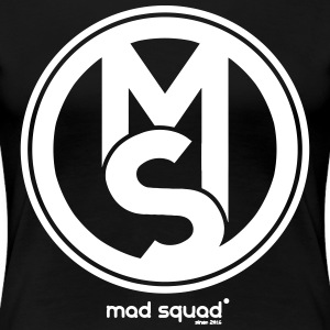Squad Mad Man Fan T-shirt - Dame premium T-shirt