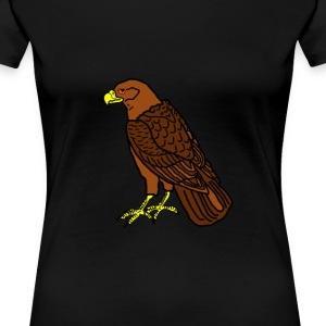 sitting raptor - Women's Premium T-Shirt