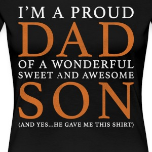 Father Son Original Gift: Order Here - Women's Premium T-Shirt